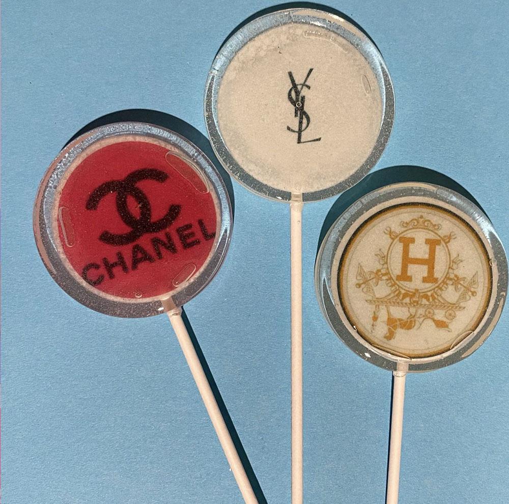 brand sweet personnalized lollipop