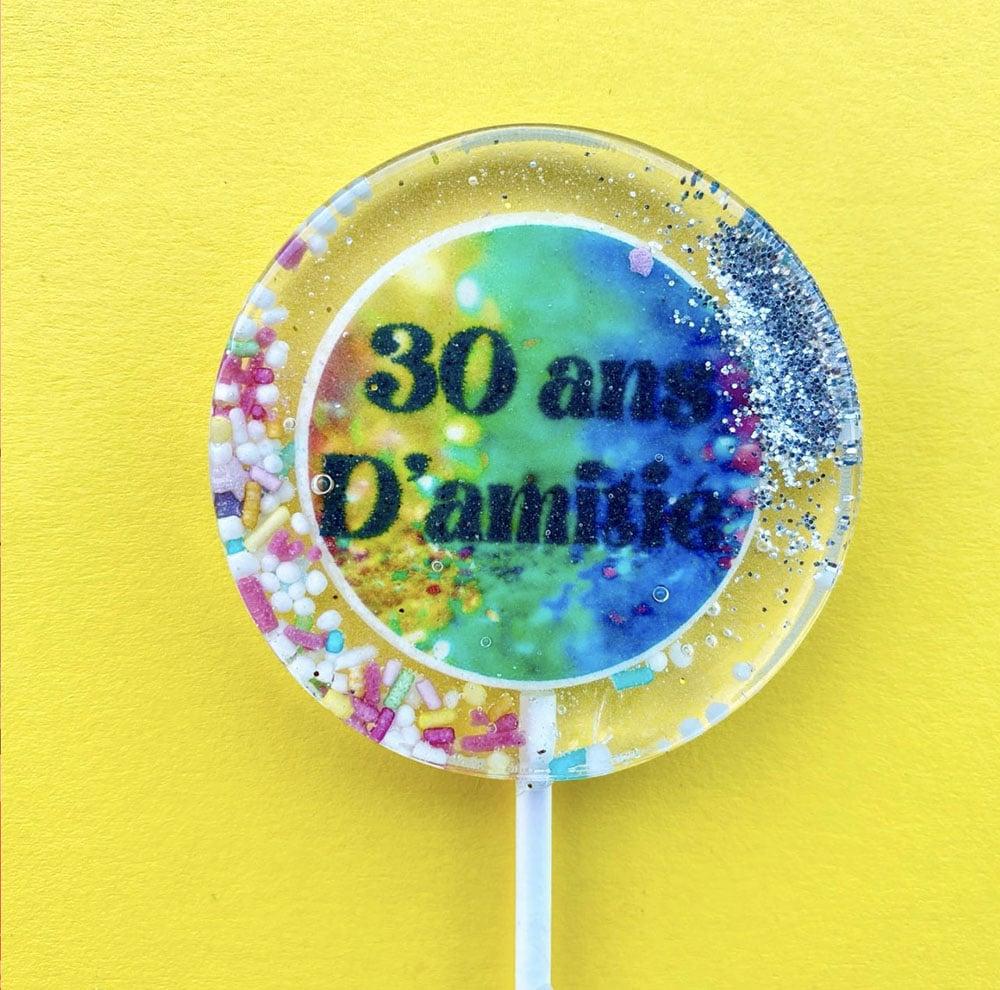 custom lollipop message text