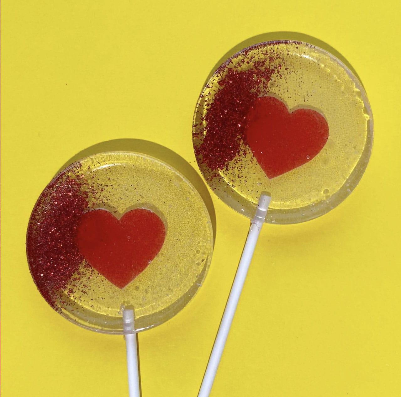 gift box sweet lollipop love