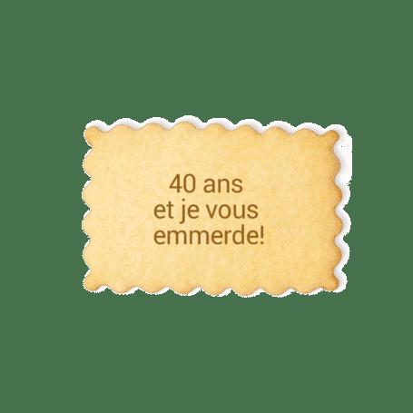 biscuit anniversaire gateau personnalise pipelettes a la francaise